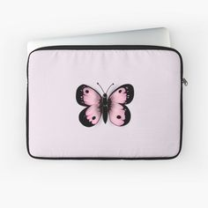 Pink Butterfly, Butterfly Design, Iphone Gadgets, Canvas Prints, Art Prints, Laptop Case, Cute Pink, Laptop Sleeves, Classic T Shirts