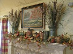 Kristen's Creations: Fall Living Room Tour