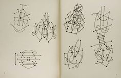 Constellation Drawings by Pablo Picasso(1881-1973)