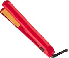 """Instantly straighten and shine your hair with the Ultra CHI Red 1"""" Ceramic Flat Iron."""