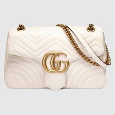 Gucci - GGMarmont Medium Matelassé Shoulder Bag - $2,490