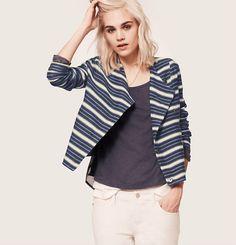 Lou & Grey Snap Moto Jacket | Loft