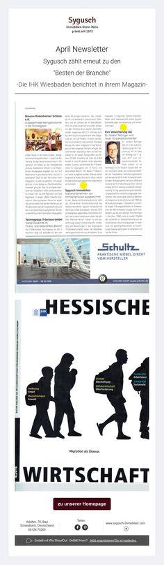 """Sygusch zählt erneut zu den """"Besten der Branche""""-Die IHK Wiesbaden berichtet in ihrem Magazin-"""