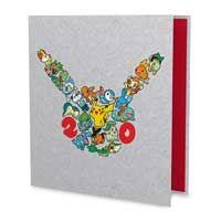 Pokémon 20th Binder | Pikachu | 3-ring card binder