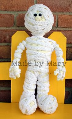 Ravelry: Morris the Mummy pattern by Mary Smith