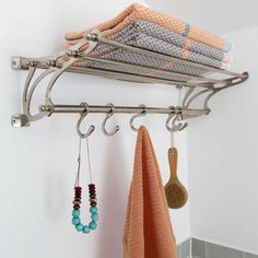 Be inspired by this modern bathroom makeover Bathroom Storage Solutions, Cabinet Styles, Modern Bathroom, Bathroom Ideas, Bathroom Shelves, Amazing Bathrooms, Home Organization, Clothes Hanger, Ideal Home