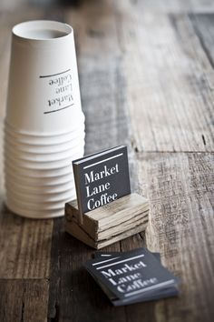 Market Lane Coffee, paper cups