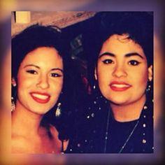 Selena and Suzette Selena Quintanilla Perez, Suzette Quintanilla, Selena And Chris, Selena Selena, Selena Gomez, Mom Film, Now And Forever, Celebs, Celebrities