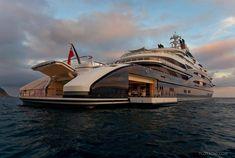Serene Luxury Yacht