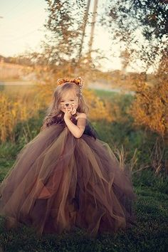 Fancy Little Feline Tutu Dress & Headband