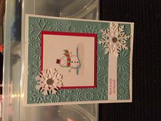Christmas card Stampin' Up