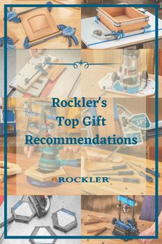 Rockler has lots of great gift ideas for your favorite woodworker! Check out our top gifts this holiday season and help the woodworker in your life create with confidence. #createwithconfidence #topgift #rocklergift #topwoodworkinggift #woodworkinggift Rockler Woodworking, Woodworking Supplies, Woodworking Tools, Top Gifts, Gifts For Dad, Great Gifts, Knobs And Pulls, Top Rated, Confidence