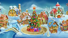 Help the friendly ghosts learn how to celebrate and truly get in the spirit of Christmas in Laruaville Click the pin to play.