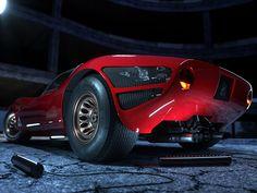 Alfa Romeo 33 Stradale on Behance
