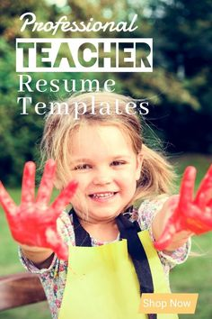 Teacher Resume Templates are designed specifically with educators in mind. Educators no longer need to reformat templates Microsoft Word Resume Template, Resume Cover Letter Template, Teacher Resume Template, Modern Resume Template, Creative Resume Templates, Cv Template, Templates Free, Resume Tips, Resume Examples