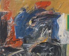 'Sutbury 2', 1957, oil on linen, 28 x 34 inches Pat Passlof
