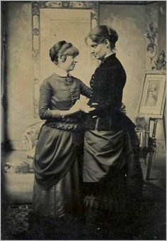 Public Lesbians in the Victorian age. It was so dangerous; you could have been killed.
