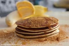 2 boys + Hope: Pancakes μπανάνας με 3 υλικά !!! Banana Pancakes, Brownies, Recipies, Sweets, Breakfast, Food, Gourmet, Cake Brownies, Recipes