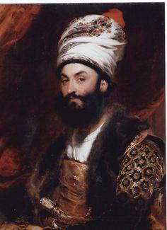 Mirza Abolhassan Khan Shirazi, Ilchi-Kabir (1776 - 1846), Iranian envoy to the King of England, painted by Thomas Lawrence, 1809