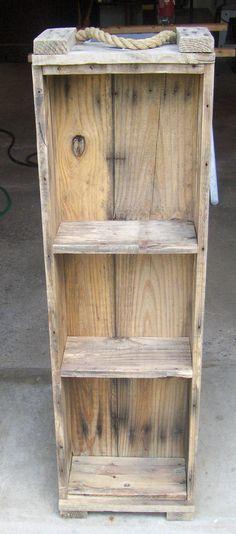 Wooden Ammo Box Shelf Unit by GamblesHouseOfStuff on Etsy