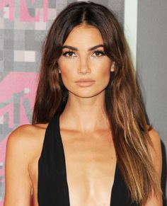Lily Aldridge -  The Hottest Fall Hair Colors to Try Now - Sombré  - from InStyle.com