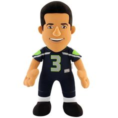 334291147bb Licensed NFL Football Quarterback Stuffed Plush Russel Wilson Collectible  Doll