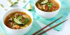 Pittige Thaise bouillon voor een slanke lijn/ Healthy Spicy Thai Broth Soup - Margriet (recipe is in Dutch)