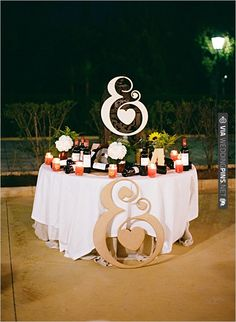ampersand wedding ideas | CHECK OUT MORE IDEAS AT WEDDINGPINS.NET | #weddingfood #weddingdrinks