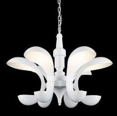 Modern Chandelier Pendant Light Villa Hotel Lobby Composite Floor Minimalist Modern Personality Head Resin Chandelier Lighting