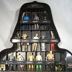 Star Wars carrying case! Loved it but the figures always fell out when you closed it. :)
