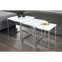 Moderne salontafel Fusion 3 delige Set - 11839