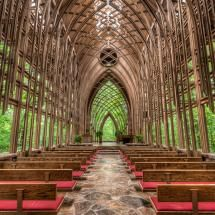 Church in the woods, Arkansas, wonderful architecture