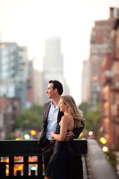 NYC (the highline) engagement session.