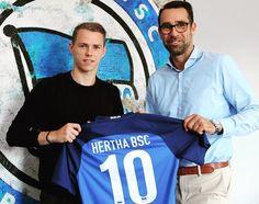 Tinte trocken Neuzugang da! Willkommen bei Hertha BSC Ondrej Duda!  #hahohe
