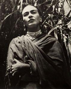 Frida Kahlo, 1951 by Gisèle Freund