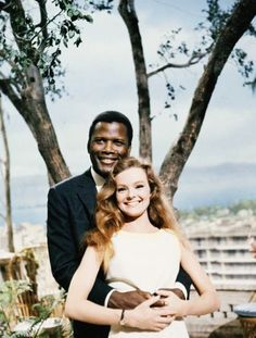 Sidney Poitier and Katharine Houghton for Guess Who's Coming to Dinner, 1967 -Watch Free Latest Movies Online on Old Hollywood Movies, Classic Hollywood, Cinema Tv, Chef D Oeuvre, Director, Film Stills, Old Movies, Latest Movies, Entertainment