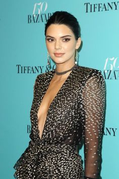FunFunky.com Kendall Jenner – Harper's & Tiffany & Co. Celebrate : Global Celebrtities (F)