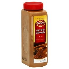 $10 Tone's Ground Cinnamon - 18 oz by Tone's, http://www.amazon.com/dp/B0015A1YIQ/ref=cm_sw_r_pi_dp_o5vVqb0FFCHP1