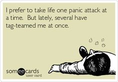 The first time I had a panic attack I thought I was dying. I woke from a restless sleep with my heart racing and a heavy feeling in my chest.
