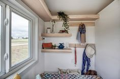 Modern Tiny Living is proud to present the Nugget, our very first micro home! Outfitted with complete off-grid capability, the Nugget is the most livable 12 foot home on the market. Whether it is...