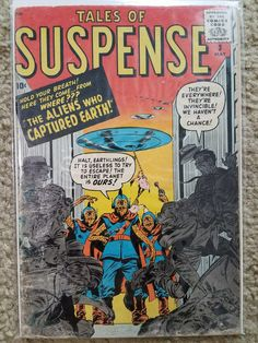 Tales of Suspense Issue # 1 (Marvel Comics) Marvel Comic Books, Marvel Dc Comics, Comic Books Art, Comic Art, Marvel Vs, Jean Giraud, Vintage Comic Books, Vintage Comics, Captain America