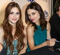 holland and crystal reed