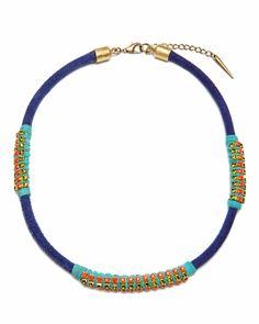 The Cordon Blue Necklace by JewelMint