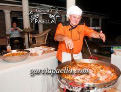 Chef Garcia cooking #Valenciana #Paella. #Delicious!