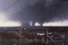 April 10th 1979 Wichita Falls, Texas. Terrible Tuesday..F 4 tornado.