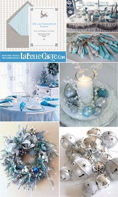 Invitaciones de Cumpleanos, Invitaciones para cumpleanos, Fiesta de navidad azul y gris