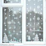 Winter Wonderland Christmas Window