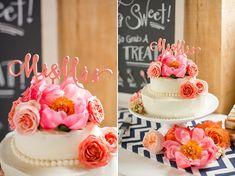Eine wunderschöne Hochzeitsinspiration in sommerlichem Pfirsich | Friedatheres Foto: Katelyn James