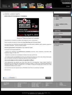 Sunny Side of the Doc #webdoc #transmedia #cvd2013