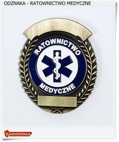 Ratownictwo Medyczne Odznaka dla ratownika lub sanitariusza